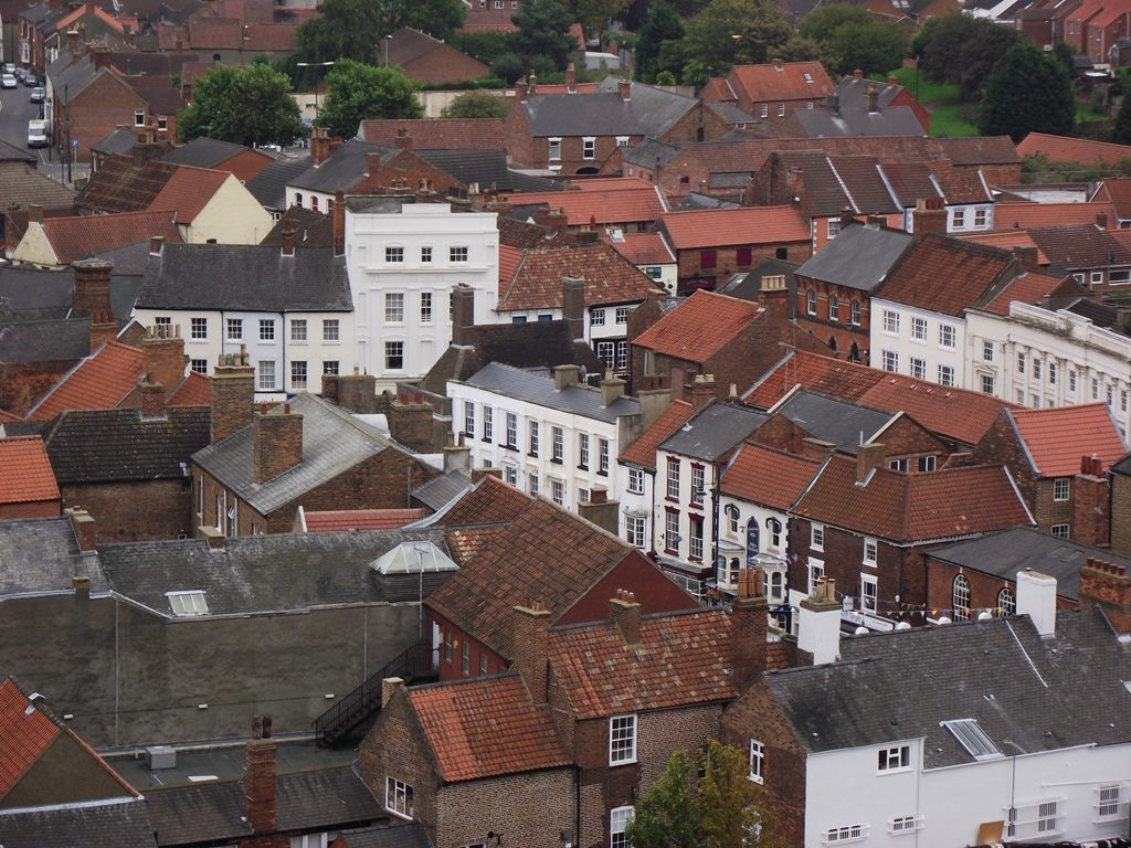 Louth from St James Church