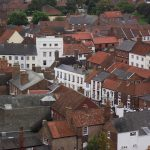 A view over Louth from St James Church
