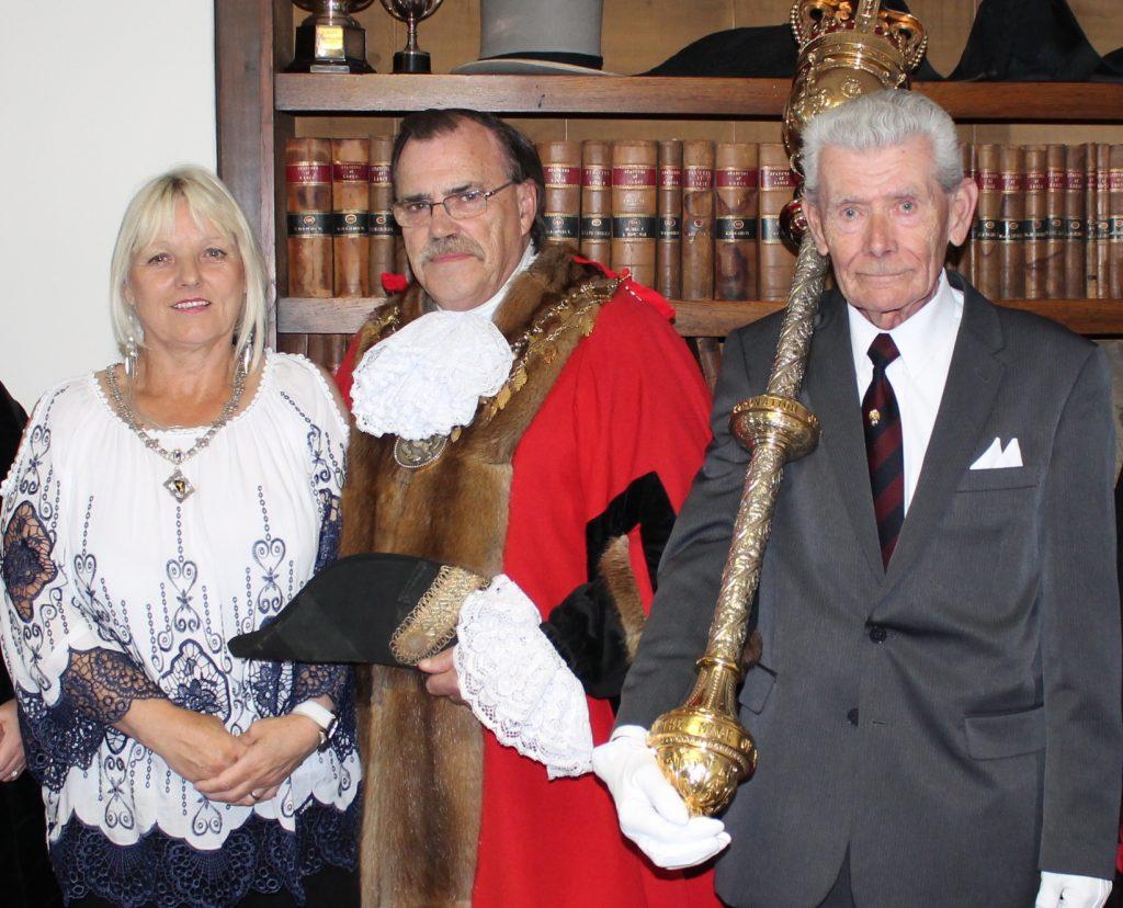 Louth Mayor, George Horton