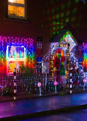 Winner of Light up Louth, 6 Dales Close