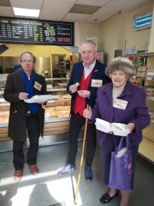 Guest Judges on the Pie Trail at Pocklingtons