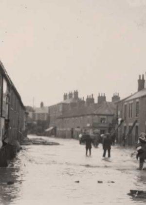 James Street following the flood