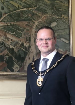 Councillor Darren Hobson, Mayor of Louth 2020-21