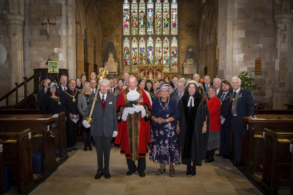 Mayor of Louth's Civic Service 2019