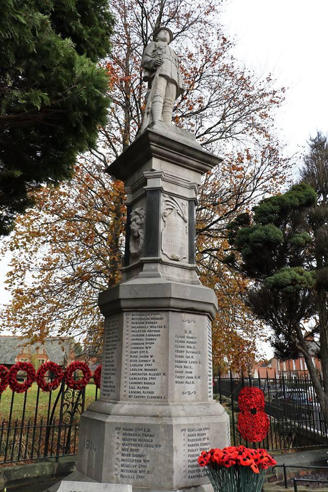 War Memorial Remembrance Day 2018