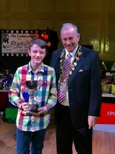 Louth Swimming Club - Annual Club Champs awards presentations