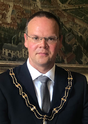 Cllr. Darren Hobson - Mayor of Louth