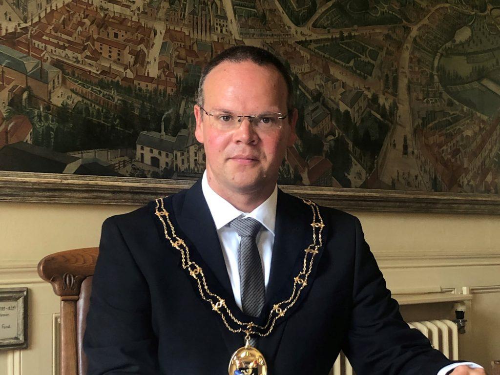 Councillor Darren Hobson, Mayor of Louth