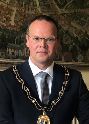 Councillor Darren Hobson, Mayor of Louth
