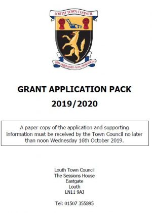 grant application 2019