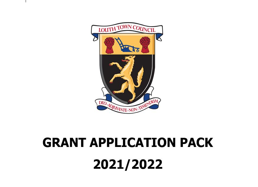 Louth Town Council 2020 Grant Application Pack