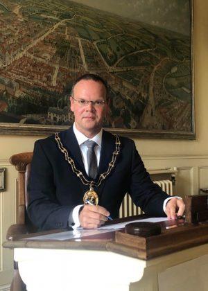 Cllr. Darren Hobson - Mayor of Louth