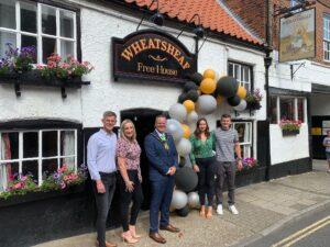Mayor re-opens Wheatsheaf on Westgate