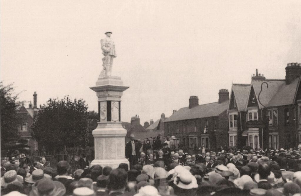 War Memorial Unveiled 1921