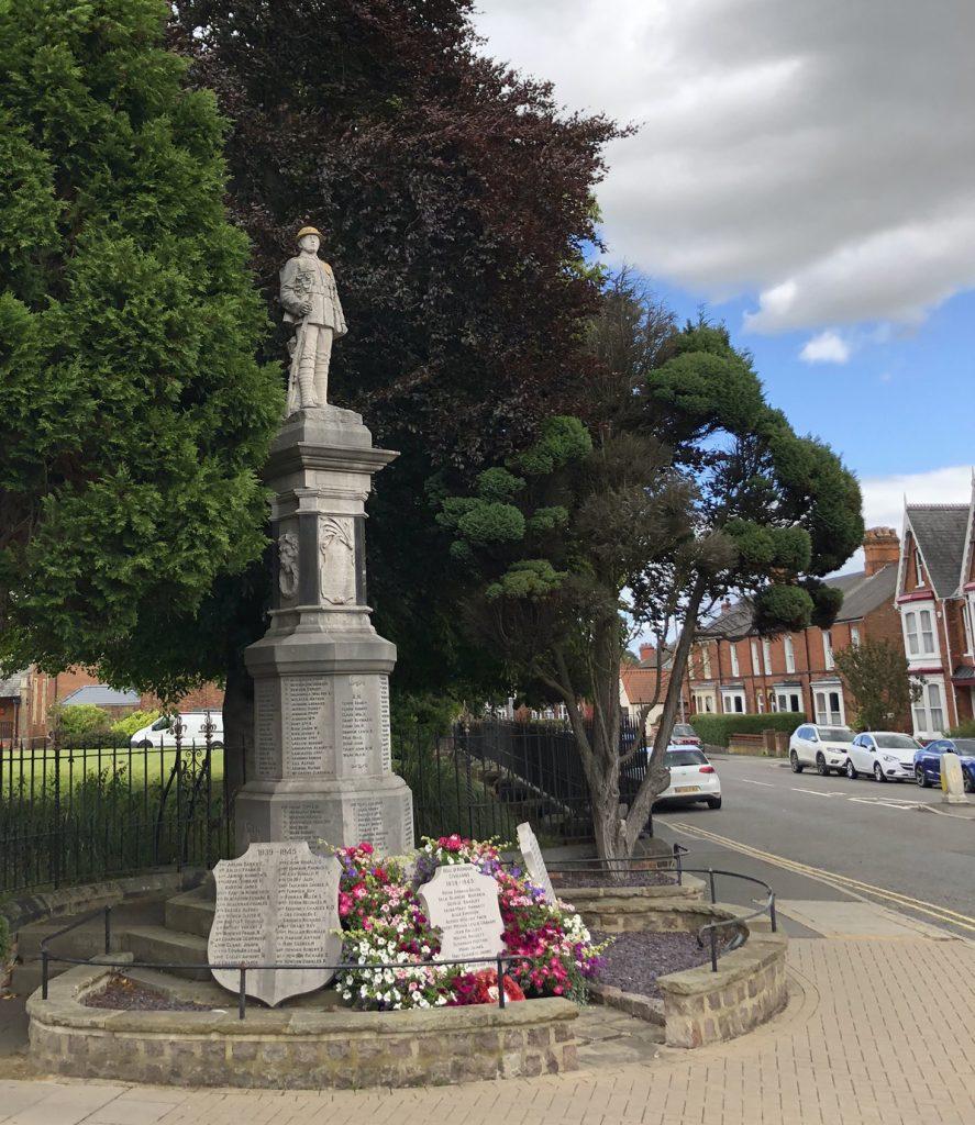 War Memorial in Louth